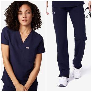 NWT FIGS Catarina Shirt + Kade Cargo Pants SET